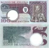 1973 ( 10 VI ) , 100 escudos ( P-106 ) - Angola - stare UNC