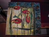 """Tablou in ulei """"Lalele"""" cu dimensiunea 40x40 cm., din anii '70, Flori, Altul"""