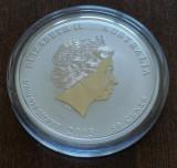 AUSTRALIA - 50 Cents 2013 - Anul Sarpelui - Argint 1/2 Uncie - UNC in capsula, Australia si Oceania