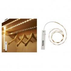 Banda LED pentru interior, senzor de miscare, lungime 60 cm, Resigilata