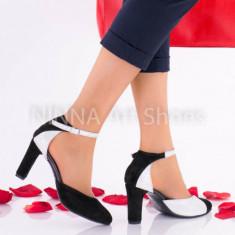 Pantofi dama eleganti din piele Ninna Art A51