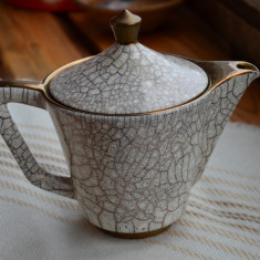 Ceainic vechi Italy cu marcaje / Ceainic superb foarte vechi