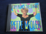 Bette Midler - Experience The Divine _ cd,greatest hits _ Atlantic ( 1993, SUA )