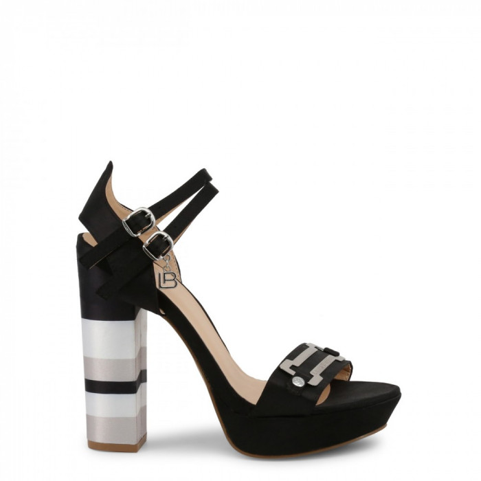Sandale femei Laura Biagiotti model 5353, culoare Negru, marime 41 EU