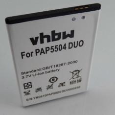 Acumulator pentru prestigio multiphone 5504 duo u.a. 2500mah