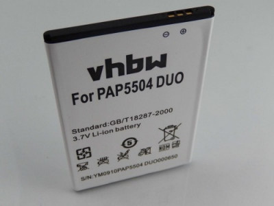 Acumulator pentru prestigio multiphone 5504 duo u.a. 2500mah foto