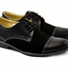 Pantofi barbati casual - eleganti din piele naturala - ROV858N
