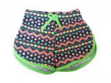 Pantaloni scurti de fetite cu diferite imprimeuri cod 1075