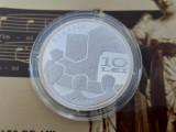 Romania 10 Lei BNR Argint 2010-150 de ani de la nasterea lui Hariclea Darclee
