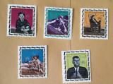 YEMEN 1967 KENNEDY, SUPRATIPAR - SERIE COMPLETĂ NEŞTAMPILATĂ MNH, Nestampilat