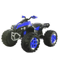 Atv electric cu telecomanda Off Road Blue, Moni