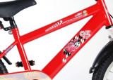Bicicleta Volare Cars pentru baieti 18 inch partial montata