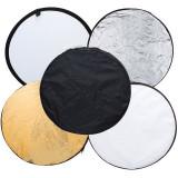 Blenda Relexie - Difuzie Rotunda 80cm 5-in-1 cu 5 fete + husa transport