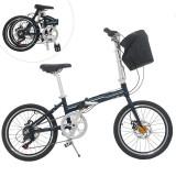 Cumpara ieftin Bicicleta pliabila, roti 20 inch, cadru otel, 7 viteze Shimano, frane pe disc, Phoenix Lincoln, resigilata