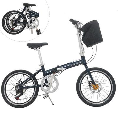 Bicicleta pliabila, roti 20 inch, cadru otel, 7 viteze Shimano, frane pe disc, Phoenix Lincoln, resigilata foto