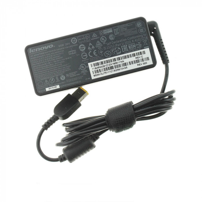 Incarcator Laptop, Lenovo, ThinkPad Edge, 20V, 3.25A, 65W