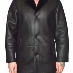 Cojoc barbati, din blana naturala, marca Kurban, 2-01-95, negru