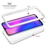 Cumpara ieftin Husa protectie 360° fata + spate pt Huawei P30 / P30 lite / P30 Pro, Alt model telefon Huawei, Transparent, Silicon