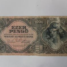 Bancnote Ungaria 1000 pengo 1945
