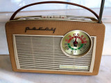 RADIO portabil - RETRO MODEL ANII 1960 - LOEWE OPTA  Percy, Analog