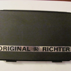 """CY - Trusa veche desen """"Original RICHTER"""" / completa / impecabila / RDG"""