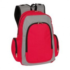 Rucsac BREMEN Urban Red Grey