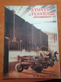 Stiinta si tehnica pentru tineret noiembrie 1950-combinatul siderurgic hunedoara