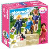Set de Constructie Clara si Domnisoara Rottenmeier - Heidi, Playmobil