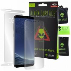 Folie Alien Surface HD, Samsung GALAXY S8, protectie ecran, spate, laterale +...