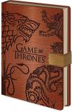 Game of Thrones (Sigils) - A5 Premium Clasp Notebook