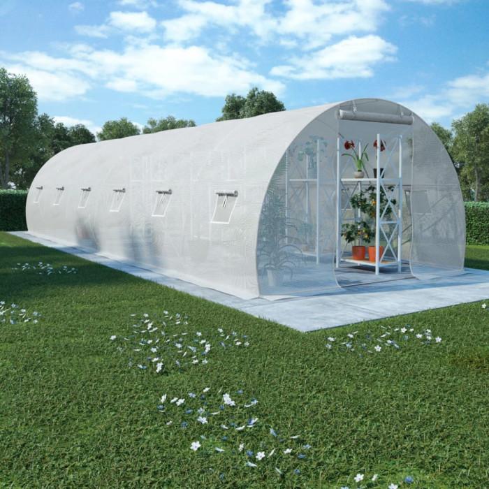 Seră, 27 m², 900 x 300 x 200 cm