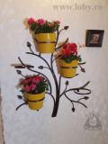 "Suport cinci ghivece flori ""Copacel"""