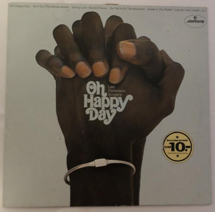 [Vinil] Lee Paterson Singers - Oh Happy Day - disc original