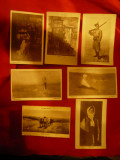Set 7 Ilustrate interbelice - Pictura de Nicolae Grigorescu