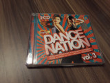 DUBLU CD VARIOUS DANCE NATION VOL 3 RAR!!!! 2 CD ORIGINALE ROTON 2008 STARE FB