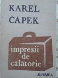 IMPRESII DE CALATORIE-KAREL CAPEK