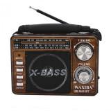 Radio portabil XB-3061URT, USB, card SD, AM/FM, Waxiba