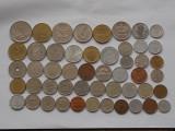 LOT 50 MONEDE DIN 50 TARI DIFERITE DE PE TOATE CONTINENTELE