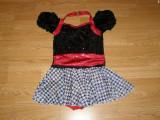 Costum carnaval serbare rochie dans balet pentru copii de 7-8 ani, Din imagine