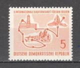 D.D.R.1957 Turul Pacii la ciclism  MD.67, Nestampilat