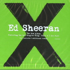 Ed Sheeran Multiply X Deluxe edition (cd)