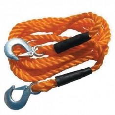 Coarda pentru remorcare, sarcina maxima 3 tone, lungime 4m, portocaliu, Strend Pro XL-MTR11