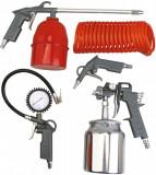 Set pistol pneumatic cu aer comprimat, pentru vopsit 5 piese