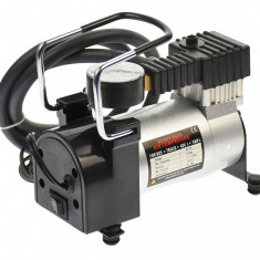Compresor auto metalic 12V, pentru SUV-uri, jeep-uri, masini si orice accesoriu gonflabil - 65161
