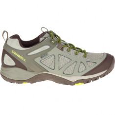 Pantofi Femei Trekking Piele impermeabili Merrell Siren Sport Q2 GoreTex impermeabil, 39, Verde