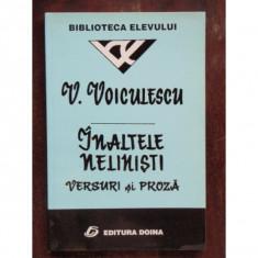 INALTELE NELINISTI - V. VOICULESCU