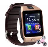 Smartwatch iUni DZ09 Plus, Camera 1.3MP, BT, 1.54 Inch, Auriu + Spinner Cadou