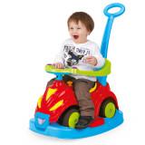 Masinuta fara pedale 4 in 1 Dolu Smile Car, Rosu