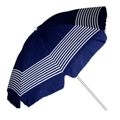 Umbrela pentru plaja, 2 m, model dungi foto