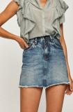 Cumpara ieftin Pepe Jeans - Fusta jeans Rachel